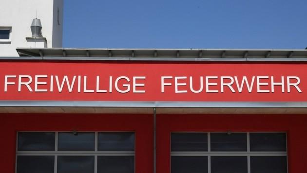 Das Feuerwehrhaus in Baden wird zu klein. Auf dem Gelände des ehemaligen Eislaufplatzes soll nun die neue Heimat der Wehr entstehen. (Symbolbild) (Bild: P. Huber)
