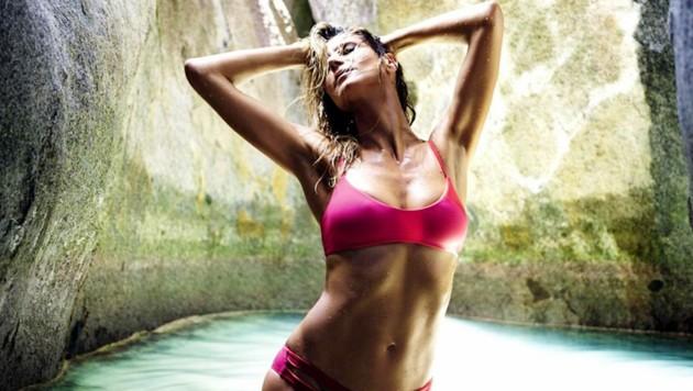 Heidi Klum im Bikini (Bild: Balawa Pics / Action Press / picturedesk.com)