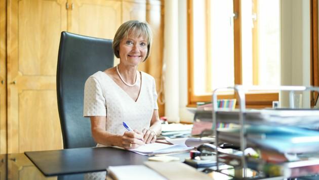 Katharina Lehmayer, derzeit noch OLG-Präsidentin in Linz, wechselt im Herbst nach Wien (Bild: Markus Wenzel)