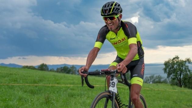 Mathias Nothegger ist auch heuer wieder motiviert die 590 Höhenmeter so schnell wie möglich zu überwinden. (Bild: Privat)