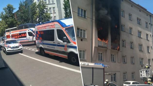 Bei dem Brand wurde niemand verletzt. (Bild: Leserreporterin Romana M., Krone KREATIV)