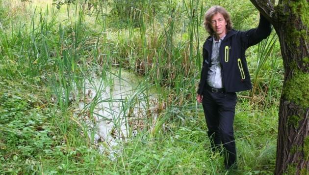 Johannes Kostenzer setzt sich seit 14 Jahren für die Umwelt ein, jetzt macht er ein Jahr Pause (Bild: Christof Birbaumer)