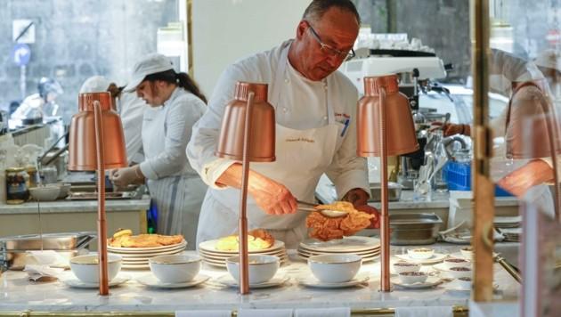 Wiener Schnitzel stehen statt Mateschitz' Stanitzel am Programm (Bild: Tschepp Markus)