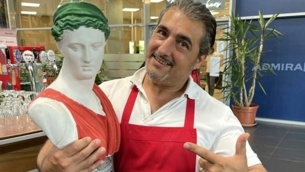 Gianni freut sich auf das große Spiel am Samstag. (Bild: Schulter Christian)