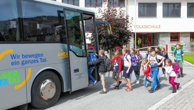 Schüler im Lieser- und Maltatal sollen zum Umstieg auf den Bus animiert werden. (Bild: Bacher Reisen)
