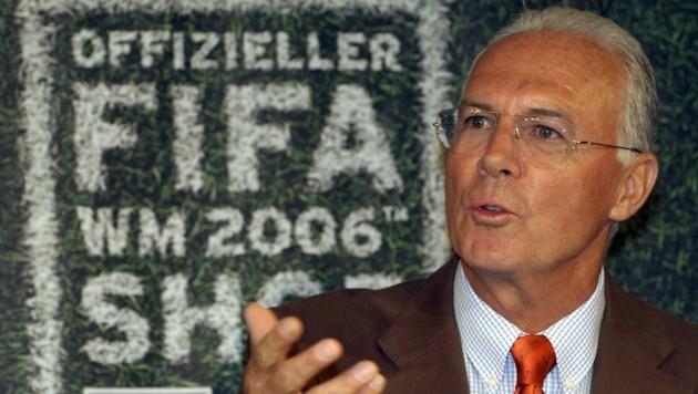 Franz Beckenbauer (Bild: dpa/dpaweb)