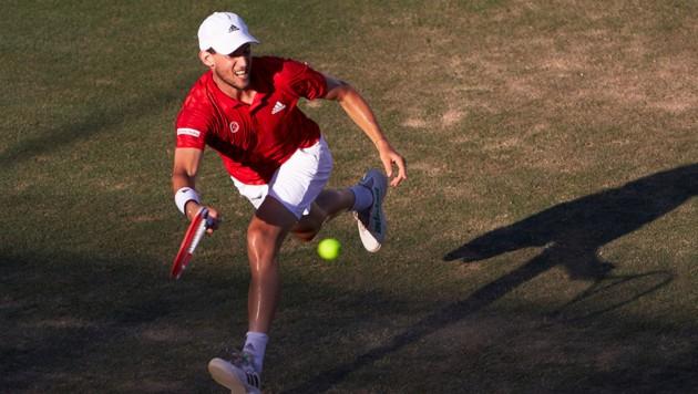 Dominic Thiem muss um seinen Wimbledon-Einsatz bangen (Bild: EMOTIONGROUP/MANUEL QUEIMADELOS)