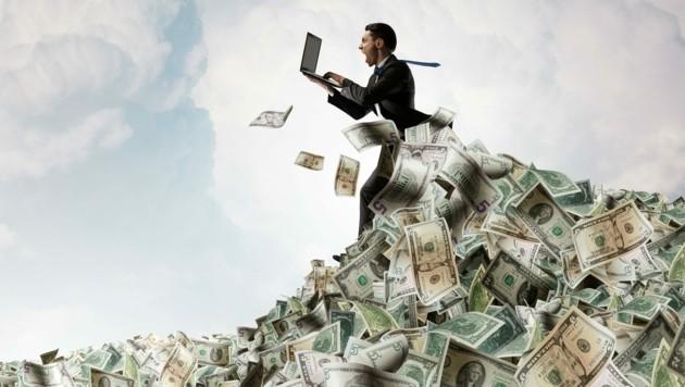 """Der """"Global Wealth Report"""" bestätigt: Die Reichen werden immer reicher. (Bild: stock.adobe.com)"""