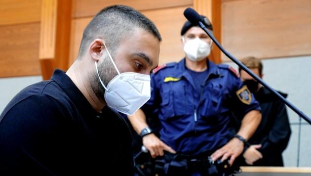 Der Mord-Angeklagte wurde zu 20 Jahren Haft verurteilt. (Bild: Christof Birbaumer)