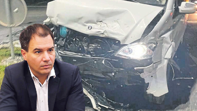 Der Wagen von Michael Schickhofer hat einen Totalschaden. (Bild: Schickhofer/Jauschowetz)