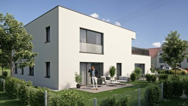 Der Wohntraum Nummer eins ist und bleibt das eigene Haus mit Garten. (Bild: Wimberger Gruppe)