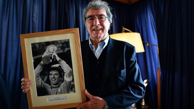 Dino Zoff (Bild: APA/AFP/Alberto PIZZOLI)