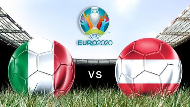 Heute steigt die Fußball-Europameisterschafts-Achtelfinal-Samstagabendshow. (Bild: GEPA )