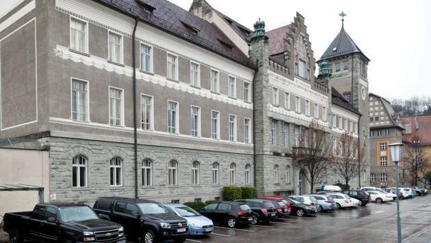 Im Landesgericht Feldkirch wurde verhandelt. (Bild: Mathis Fotografie)