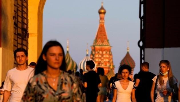 Die Beziehungen zwischen der EU und dem Kreml in Moskau befinden sich derzeit auf einem Tiefststand. (Bild: AP)