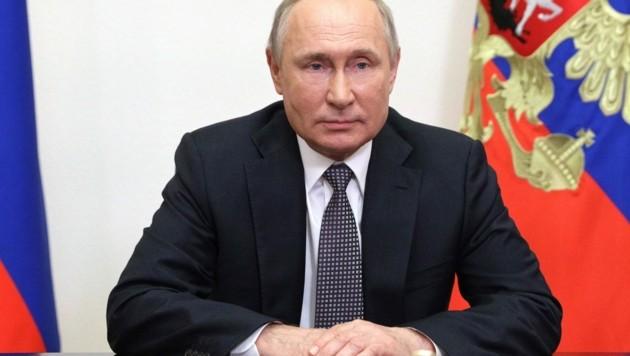 Präsident Wladimir Putin bekam Post von Matthäus (10) aus Neumarkt/Mühlkreis (Bild: AFP)