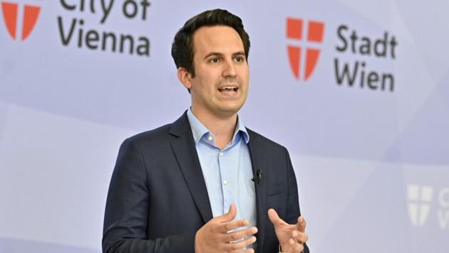 Vizebürgermeister Christoph Wiederkehr (NEOS) (Bild: APA/HANS PUNZ)