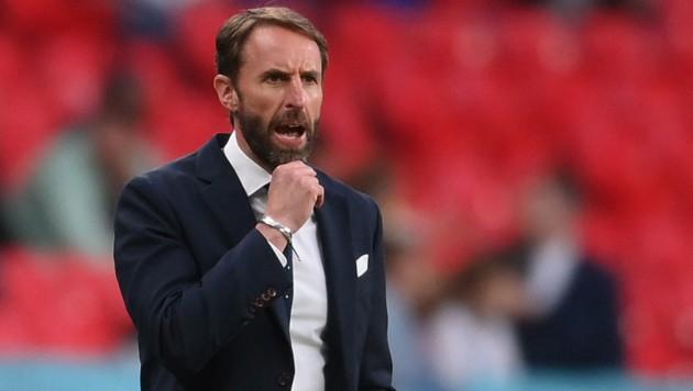 Englands Nationaltrainer Gareth Southgate (Bild: AFP and licensors)
