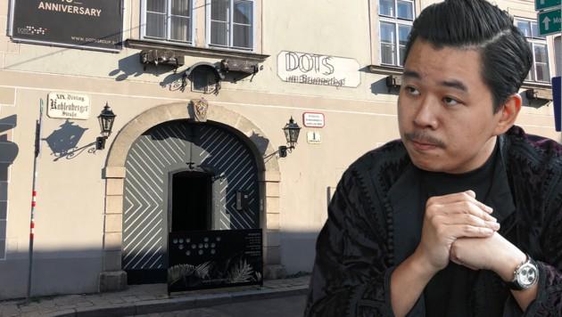 Verkündete Martin Ho in seinen Lokalen bereits öffentlich das Ende der Maskenpflicht? (Bild: Reinhard Holl, zVg, Krone KREATIV)