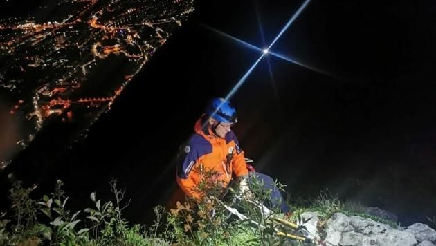 Die Bergrettung musste um kurz vor 21.30 ausrücken. (Bild: Bergrettung Hallein)