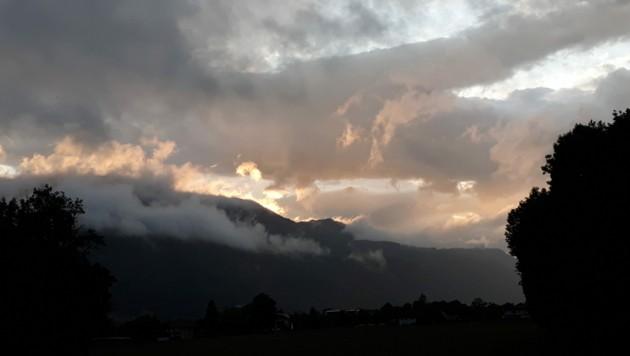 Das Land Salzburg gab für Dienstagabend eine Sturmwarnung heraus. (Bild: Veronika Lienbacher)