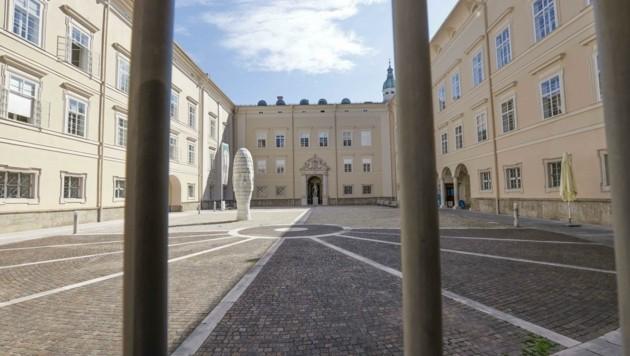 Die Vorwürfe richten sich gegen einen Professor, der an der juridischen Fakultät lehrt. (Bild: Tschepp Markus)