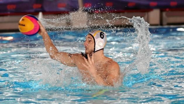 WBV-Wasserballer Ribic und die Grazer können Meister werden. (Bild: GEPA pictures)