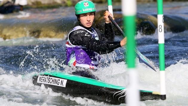 Nadine Weratschnig muss ohne ihren Trainer zu Olympia. (Bild: Picasa)
