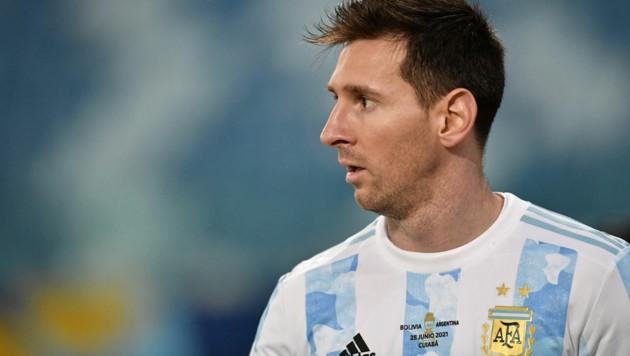 Lionel Messi (Bild: APA/AFP/DOUGLAS MAGNO)