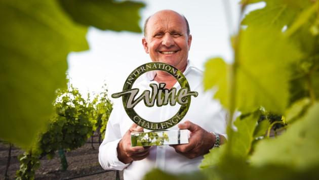 Hans Tschida wurde bereits zum siebenten Mal zum Sweet Wine Maker of the year gekürt (Bild: Florian Smetana)