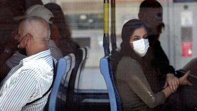 Neben der zunehmenden Verbreitung der Delta-Variante des Coronavirus beobachtet Israel nun immer mehr Fälle von Atemwegserkrankungen, die normalerweise nur im Winter auftreten. (Bild: AFP/Emmanuel DUNAND)