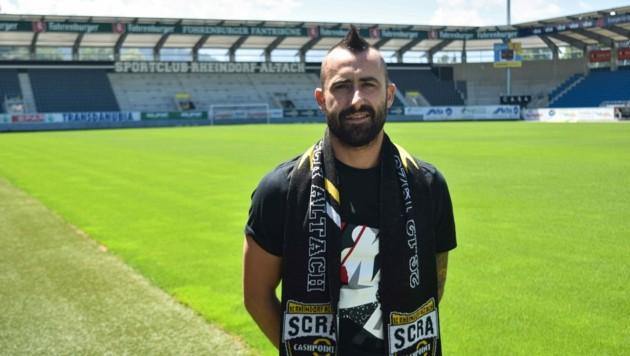 Der 31-jährige Kroate Sandi Krizman unterschreibt bis 2022/23 bei den Altachern. (Bild: SCR Altach)