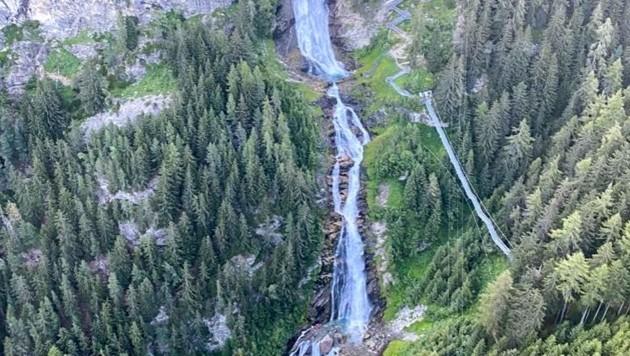 Die Wanderroute zum Stuibenfall wurde weitgehend neu angelegt. (Bild: zeitungsfoto.at/Liebl Daniel)