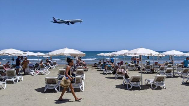 Doch keine Reise ins Urlauberparadies? Deutschland stuft unter anderem Zypern als Corona-Risikogebiet ein. (Bild: AFP/Etienne TORBEY)