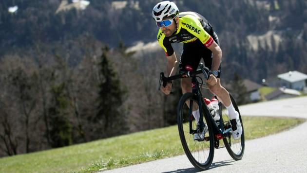 Der Franzose Alexis Guerin ist gut in Form und holte sich den Sieg auf der Königsetappe der Tour de Sibiu in Rumänien. (Bild: Maurice Shourot)