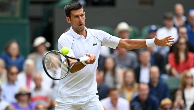 Novak Djokovic (Bild: APA/AFP/Glyn KIRK)