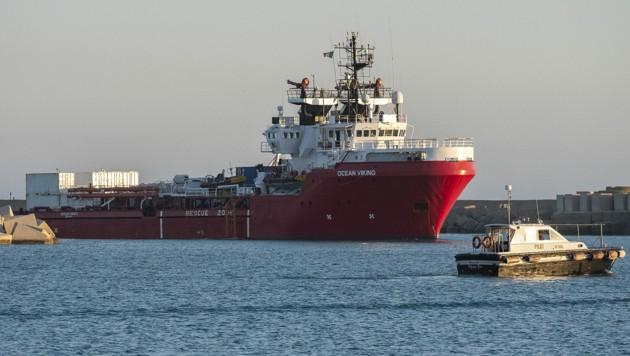 Die Rettungsaktionen wurden in maltesischen und libyschen Gewässern durchgeführt. (Bild: AFP/Giovanni ISOLINO)