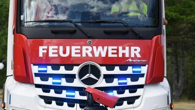 Symbolbild: Das Fahrzeug wurde durch die Feuerwehr Maria Alm geborgen. (Bild: P. Huber)