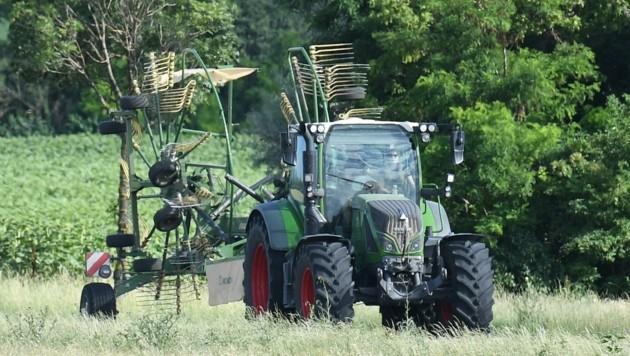 Bio-Zukunft der Landwirtschaft im Sommer ein heißes Thema (Bild: Huber Patrick)