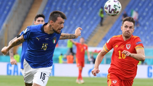 Acerbi (Bild: The Associated Press. All rights reserved)