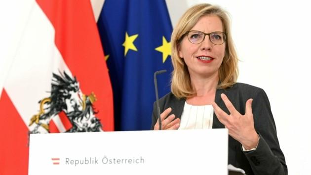 Ministerin Gewessler (Bild: APA/HELMUT FOHRINGER)