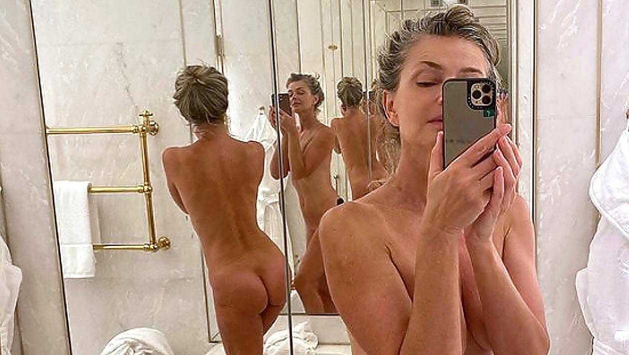 Selfis nackt Nackt