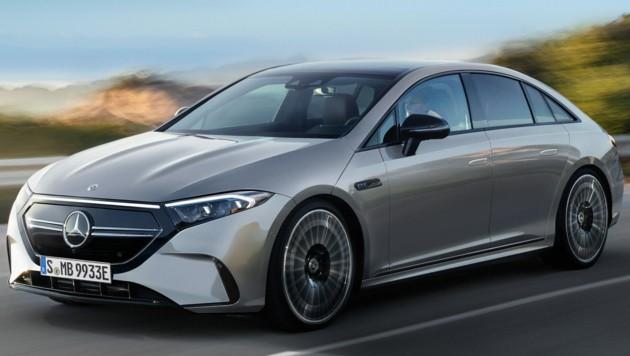 Mercedes-Benz EQE, Rendering von Larson-Design (Bild: Auto-Medienportal.Net/Larson-Design)