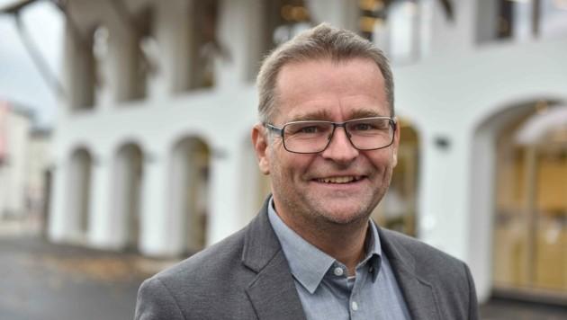 Vorchdorfs Noch-Ortschef Gunter Schimpl (Bild: Wenzel Markus)