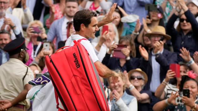 Roger Federer (Bild: Copyright 2021 The Associated Press. All rights reserved)