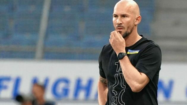 Sturm-Coach Christian Ilzer ist mit seiner Elf im Testspiel-Einsatz. (Bild: Pail Sepp)