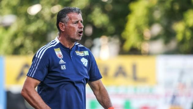 Hartberg-Coach Kurt Russ (Bild: GEPA pictures)