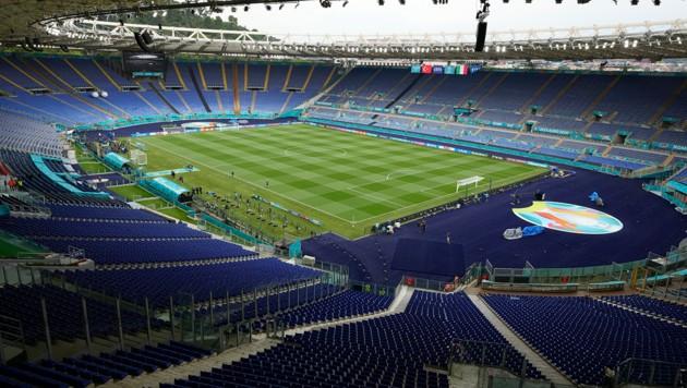 Stadio Olimpico in Rom (Bild: AP)