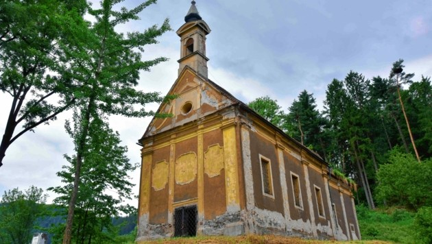 Die Wallfahrtskirche St. Peter am Freienstein. (Bild: Foto Ricardo, Richard Heintz 8010)