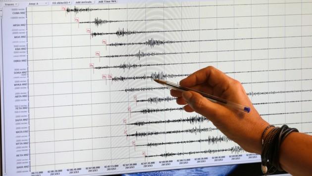Das Beben im Raum Innsbruck erreichte eine relativ geringe Stärke. (Bild: APA/Georg Hochmuth (Symbolbild))